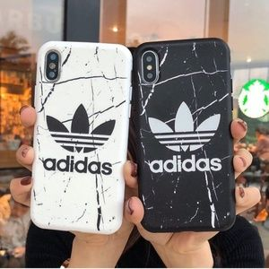 NEW Adidas iPhone Case Black or White X/XS/XS Max